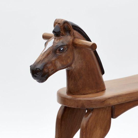 Cavallo a dondolo baio Amazing Ruby
