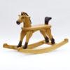 Cavallo a dondolo giallo Amazing Ruby