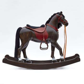 Cavallo a dondolo morello Royal Spinel
