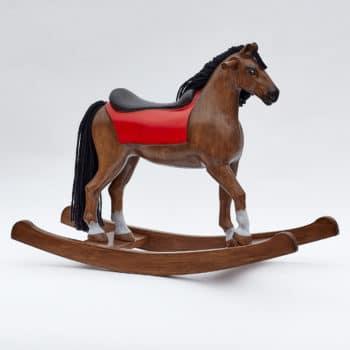 Cavallo a dondolo baio Shining Spinel