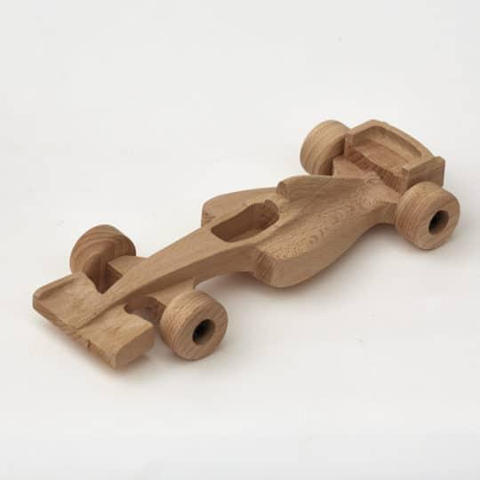 Formula F1 in legno di faggio