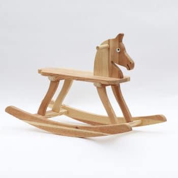 Cavallo a dondolo in legno My Benjamin, altezza della seduta 25 cm